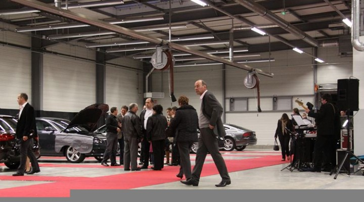 Inauguration concession AUDI