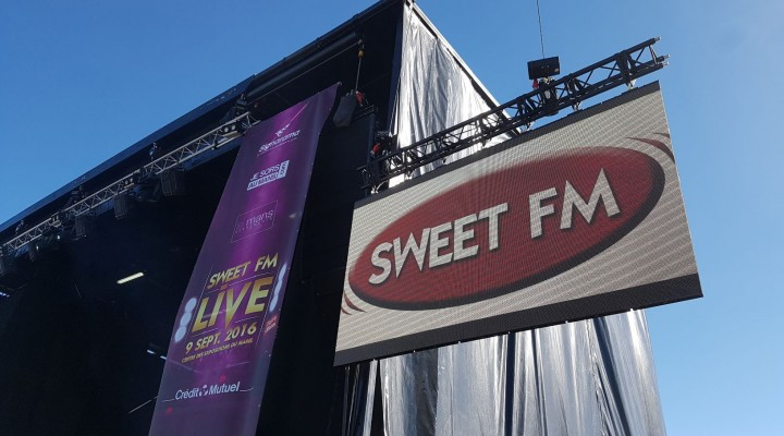 Espace VIP Sweet FM Live 2016
