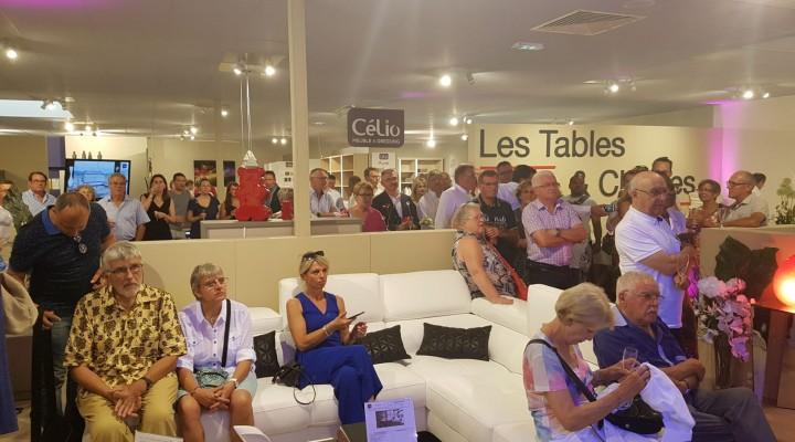 Inauguration Mobilier de France Le Mans