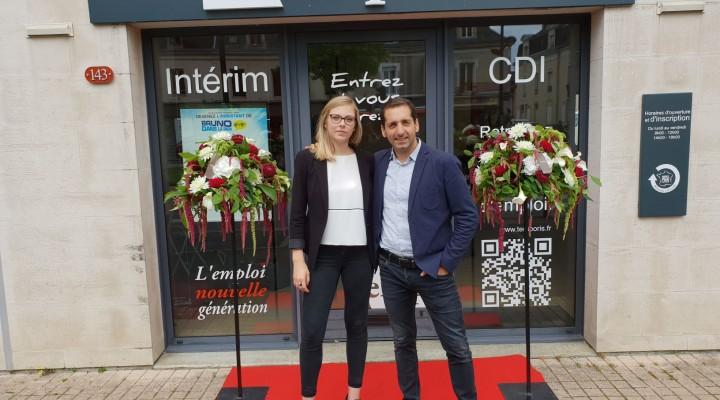 Inauguration Agence Temporis