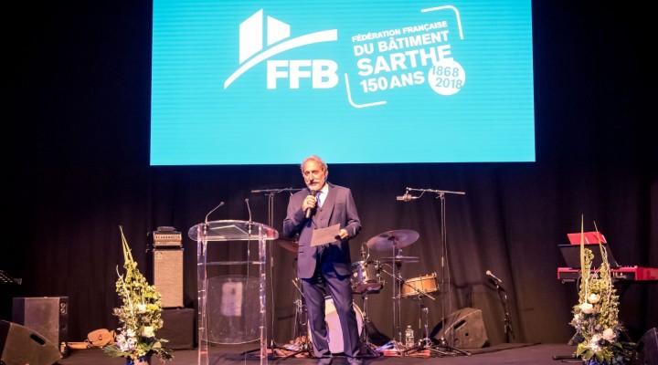 150 ans Fédération Française du Bâtiment Sarthe